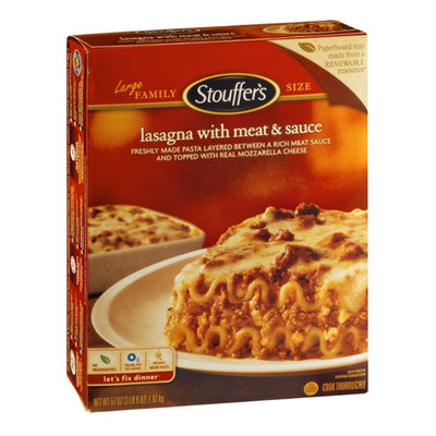 Stouffer's Lasagna with Meat & Sauce Family Size
