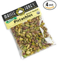 Maisie Jane's California Sunshine Products Organic Natural Unsalted Pistachios Packages