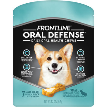 FRONTLINE Oral Defense Chews for Small Dog (10-25 lbs)