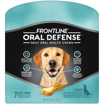 FRONTLINE Oral Defense Chews for Large Dog (50+ lbs)