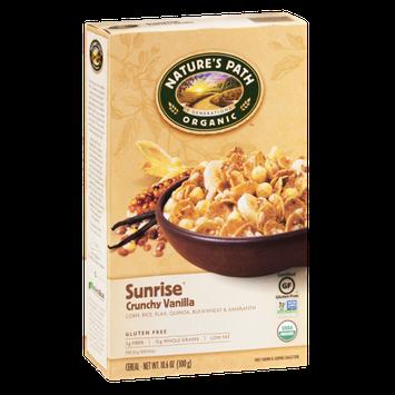 Nature's Path Organic Sunrise Crunchy Vanilla Cereal - Gluten Free