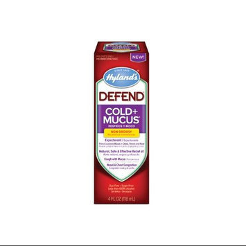Hylands - Defend Cold Mucus Non-Drowsy - 4 oz.