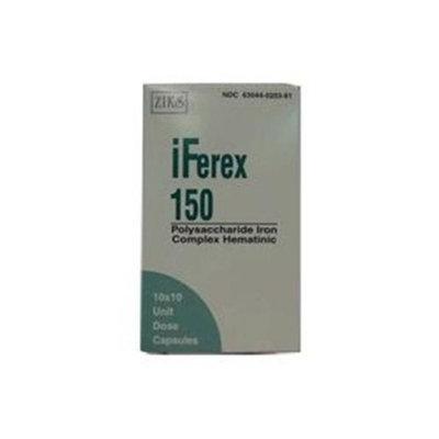 Iferex 150 mg Old Formula Capsules, 10 UD - 10 Ea