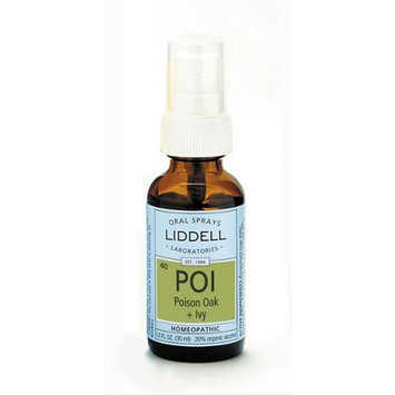 Liddell Poison Oak + Ivy Homeopathic Spray - 1 fl oz