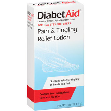 DiabetAid Pain and Tingling Relief Lotion 4 fl oz