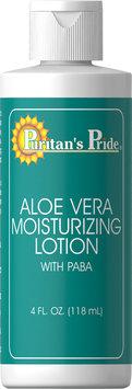 Puritan's Pride 2 Units of Aloe Vera 85% Natural Moisturizing Lotion-4 oz-Lotion