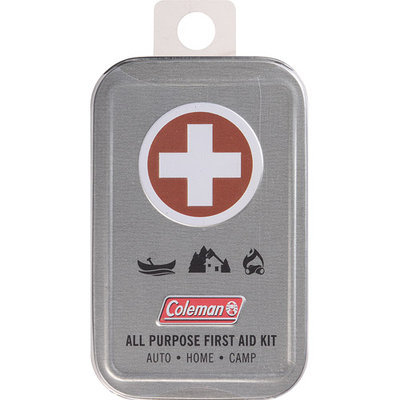Coleman All Purpose First-Aid Tin