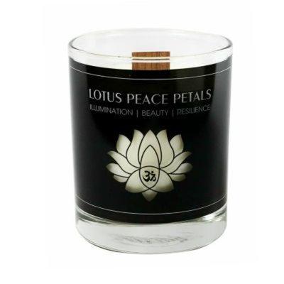 Alex and Ani Lotus Peace Petals Large Candle, 9.75 oz.