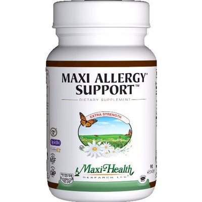 Maxi Allergee Support 60 Capsules, 3-Ounce Bottle