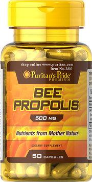 Puritan's Pride 2 Units of Bee Propolis 500 mg -50-Capsules