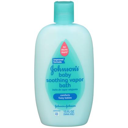 Johnson's ® Baby Bath Soothing Vapor