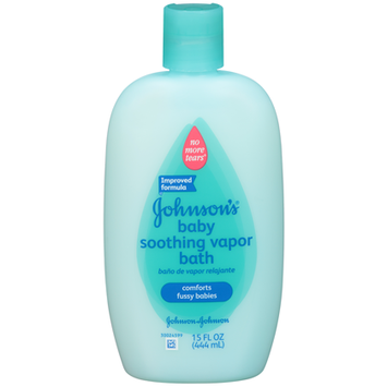 Johnson & Johnson Baby Bath Soothing Vapor