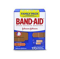 Band-Aid Brand Adhesive Bandages, Family Pack (170 ct.)