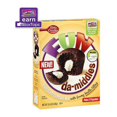 Betty Crocker Fundamiddles Chocolate Cake Mix With Creamy Vanilla Filling