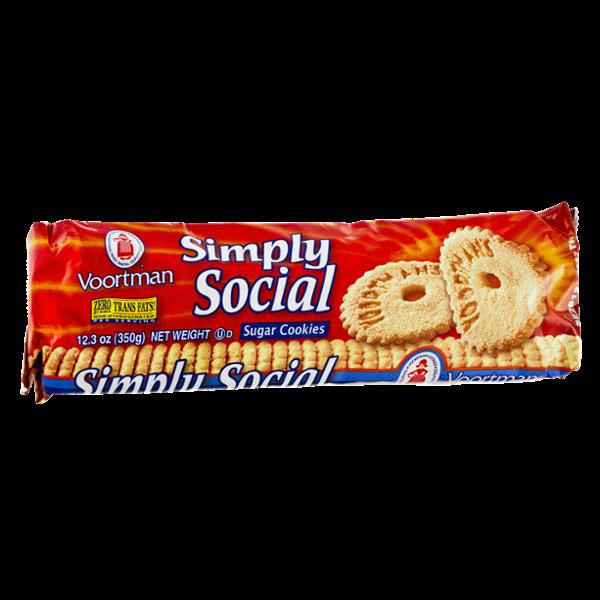 Voortman Sugar Cookies Simply Social
