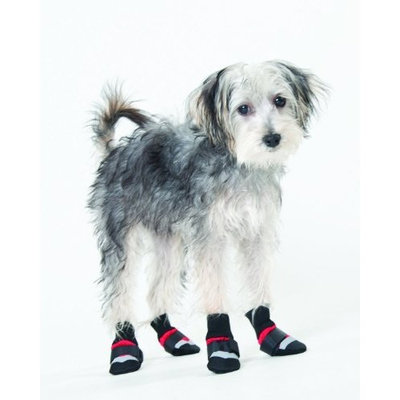 Fashion Pet Lookin Good Extreme All Weather Boots for Dogs, X-Small, Red