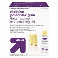 up & up Original Flavor 4-mg. Nicotine Gum - 220 ct.