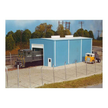 Rix Products HO KIT Modern Engine House, Sml Multi-Colored