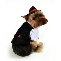 Anit Accessories Anit Large Gangster Dog Costume