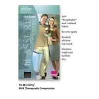 Mediven Assure, Closed Toe, 20-30mmHg, Knee High Compression Stocking, XX-Large, Beige
