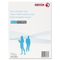 XEROX Polyester Paper, 8-1/2 x 11, White, 100 Sheets
