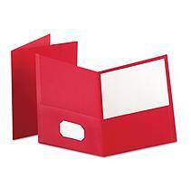 Oxford Twin Pocket Portfolio, Red - Kmart.com
