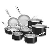 Kitchenaid 14PC Cookware - Onyx Black