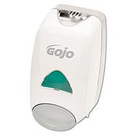 GO-JO INDUSTRIES Liquid Foaming Soap Dispenser, 1250ml, 6-1/8w x 5-1/8d x 10-1/2h, Gray/White