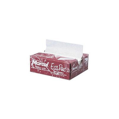 Marcal Paper Mills - Deli - MCD 5290 Eco-Pac Natural Interfolded Dry Wax Paper 6 in. x 10 in.