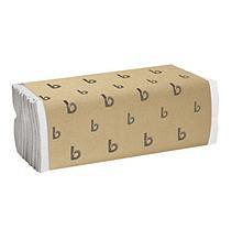 Boardwalk BWK 6220 C-Fold Paper Towel Bleached White