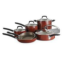 Daily Chef 11 Pc. Cookware Set - Spice Red