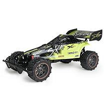 New Bright Industries 1:6 R/C Spider Buggy - Black and Green