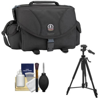 Tamrac 5606 System 6 Pro Digital SLR Camera Bag (Black) with Tripod + Accessory Kit