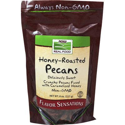 NOW Foods Honey-Roasted Pecans 8 oz