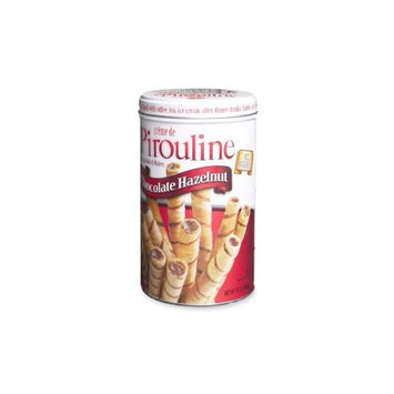 Marjack Pirouline Cookie, w/Cream Filling, 14 oz, 6/PK