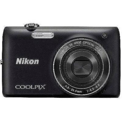 Nikon COOLPIX S4100 14MP Digital Camera w/ 5x Optical Zoom, 3.0