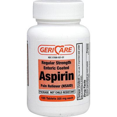 Gericare Aspirin Enteric Coated 325 mg-100 Tablets