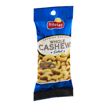 Frito Lay Whole Cashews Salted