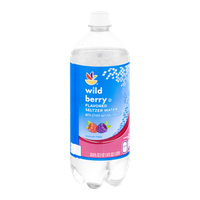 Ahold Flavored Seltzer Water Wild Berry