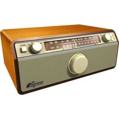 Sangean America FM / AM / Aux-in / Bluetooth Wooden Cabinet Receiver