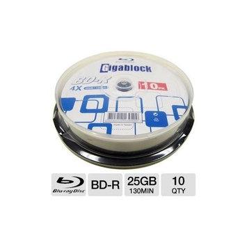 BK Media 6401NK122101 10 Pack 4X BD-R Spindle