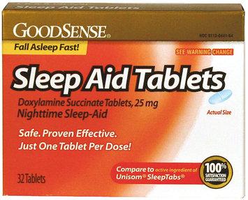 Good Sense Sleep Aid Tablets, 25 mg, 32 ea