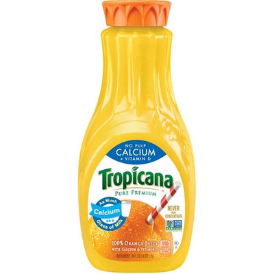 Tropicana® Pure Premium Calcium + Vitamin D (No Pulp)