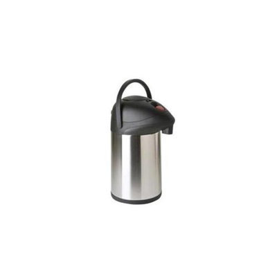 Focus Foodservice KPW9325BT 2. 5 l. brew through stainless steel airpot - Pack of 6