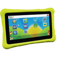 Playtime 70124 Tabby 7DU 7-inch Wi-Fi Tablet PC - Amlogic 8726 MXL 1 GHz Dual-core Processor - 512MB - 4GB - Android 4.1 Jelly Bean - Green