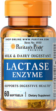 Puritan's Pride Super Lactase Enzyme 125 mg-60 Softgels