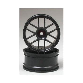 Hpi 3796 Split 6 Wheel 26mm Black (2) Multi-Colored