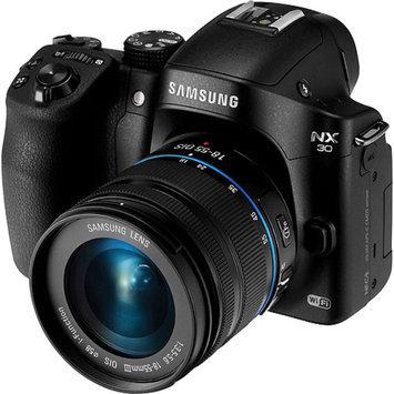 Samsung Black SMART NX30 Digital SLR with 20.3 Megapixels and 18-55mm Lens Included