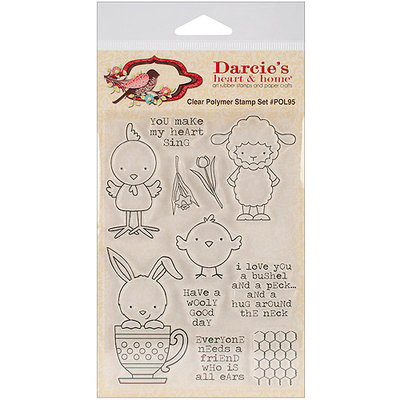 Stampers Anonymous 297958-Darcie's Clear Stamp Set-Bootiful Halloween