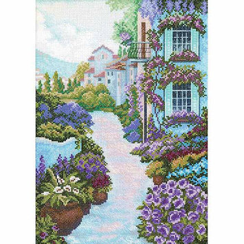 RTO Blooming Town Counted Cross Stitch Kit